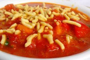 सेव टमाटर की सब्जी