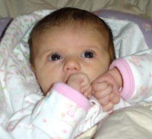 पहले महीने शिशु विकास